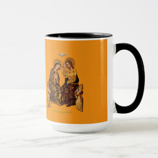 Coronation of The Virgin Mug