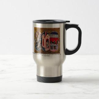 Coronation Of The Virgin Coffee Mugs