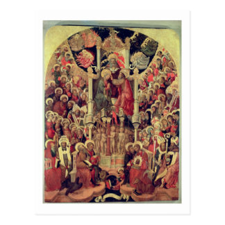 Coronation of the Virgin Postcard
