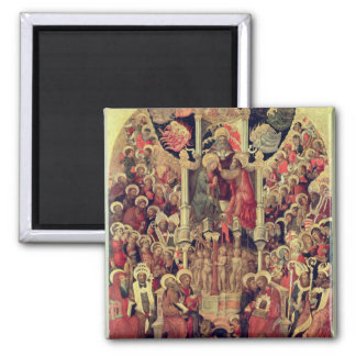 Coronation of the Virgin Square Magnet
