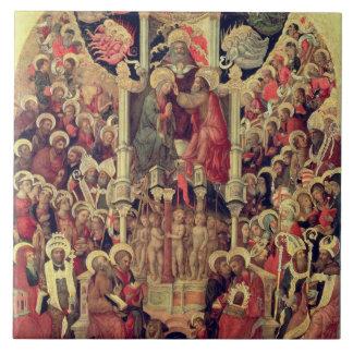 Coronation of the Virgin Tile