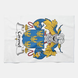 Coronel Family Crest Kitchen Towel