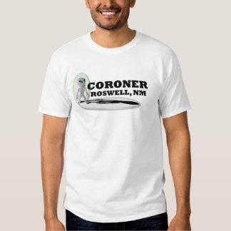 coroner, Roswell Tee Shirt