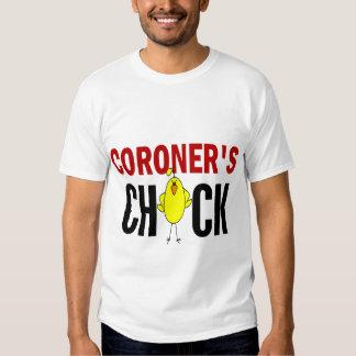 Coroner's  Chick T-shirt