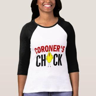 Coroner's  Chick T-shirts