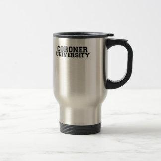 Coroner University Mugs