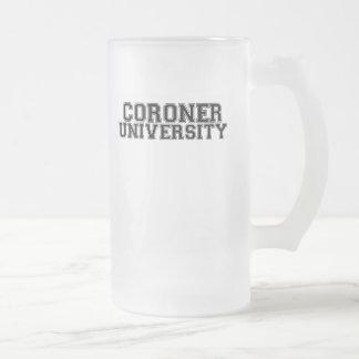 Coroner University Coffee Mugs