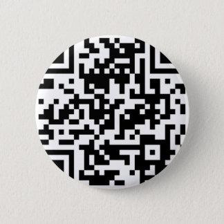 CoroPlanes QR Code 2 Inch Round Button