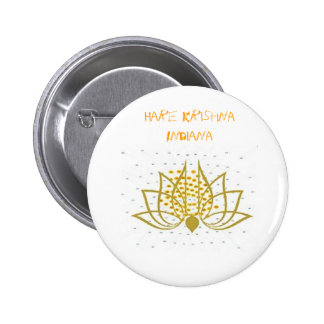 corp3, Hare Krishna Indiana 2 Inch Round Button