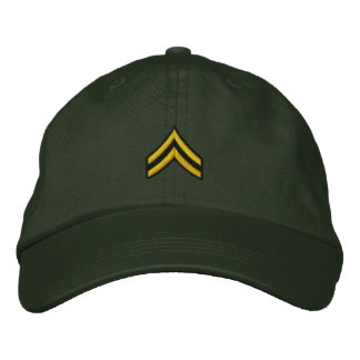 Corporal Embroidered Hat