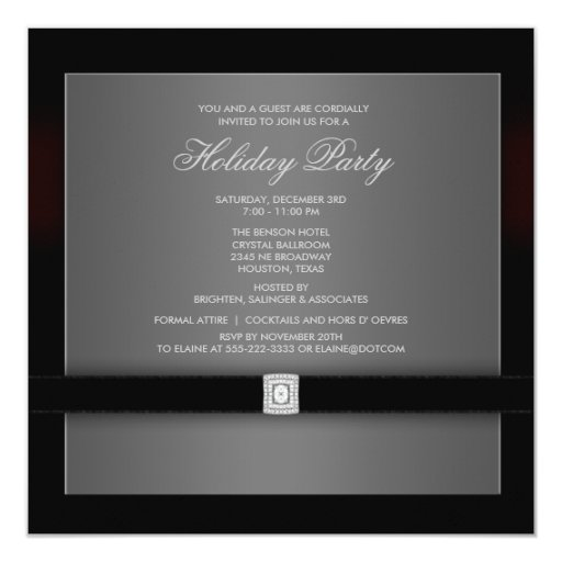 Black And White Party Invitation Wording for adorable invitations design