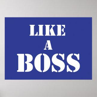 Corporate Boss Poster