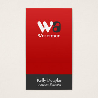 Corporate Elegance Business Card