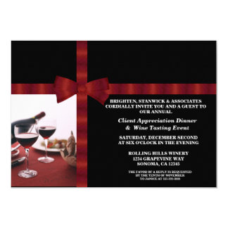 Corporate Event Client Appreciation Card