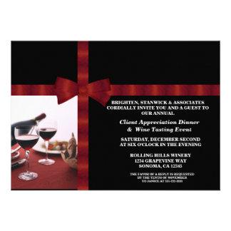 Corporate Event Client Appreciation Custom Invitations