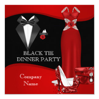 Formal Dinner Party Invitations & Announcements Zazzle