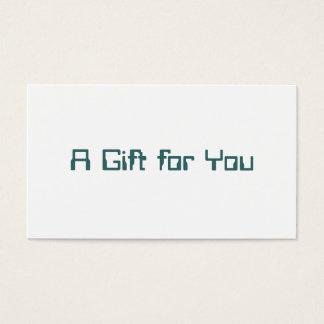 Corporate Gift Certificate