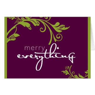 CORPORATE GREETING CARD :: bold vine 3L
