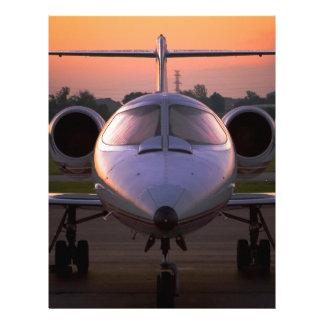 Corporate Jet Plane Travel Letterhead