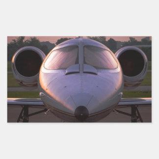 Corporate Jet Plane Travel Sticker
