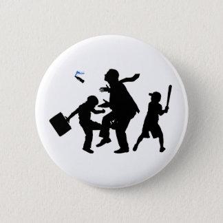 Corporate Kickback 2 Inch Round Button
