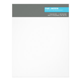 CORPORATE LETTERHEAD :: simple blocked 2