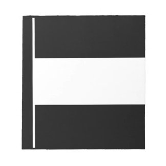 Corporate Logo Flag Notepad