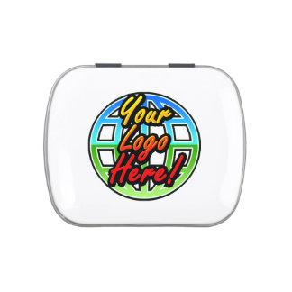 Corporate Logo Gift Mint Tins, No Minimum Quantity