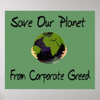 Corporate Planet Print