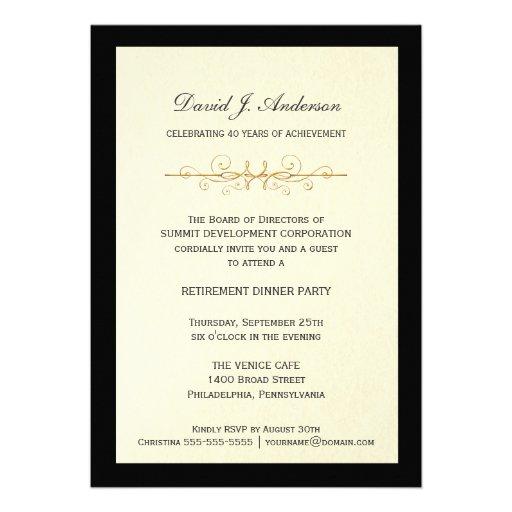 Free Retirement Party Invitation was good invitations design