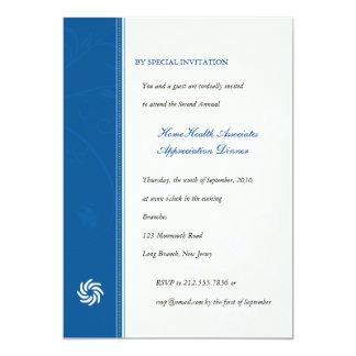 Corporate Vines Blue Card