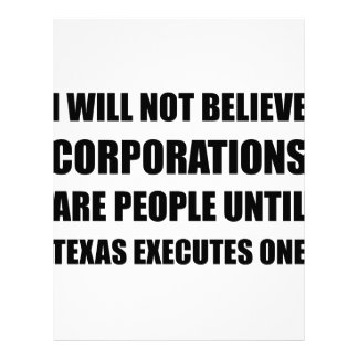 Corporations People Texas Executes Personalized Letterhead
