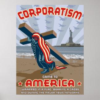 Corporatisme Poster