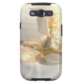 Corps de caisse de galaxie du Christ Samsung