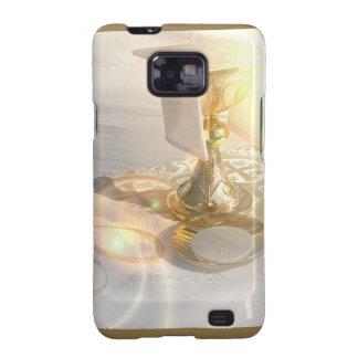 Corps de caisse de galaxie du Christ Samsung Galaxy SII Case