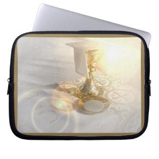 Corps de sac de l'électronique du Christ Housse Pour Ordinateur Portable