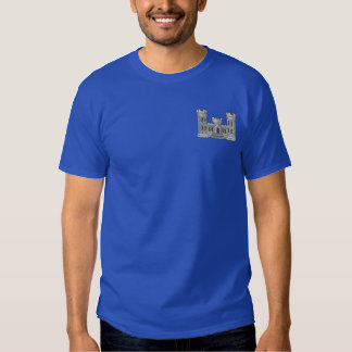 Corps Of Engineers Embroidered T-Shirt