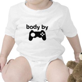 Corps par des jeux vidéo t-shirt