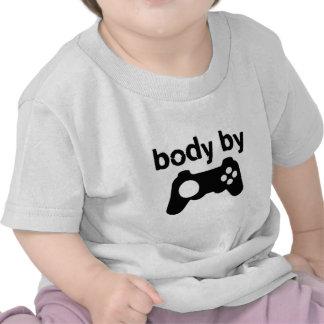 Corps par des jeux vidéo t-shirts
