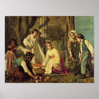 Corpus Christi, 1855 Poster