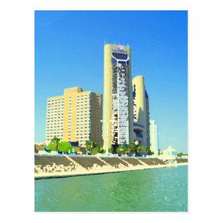 Corpus Christi Bayfront Postcard