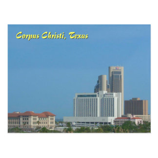 Corpus Christi Skyline Postcard