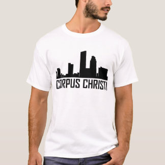 Corpus Christi Texas City Skyline T-Shirt