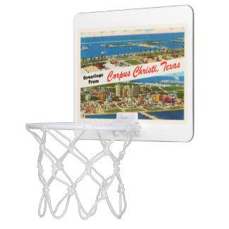 Corpus Christi Texas TX Vintage Travel Souvenir Mini Basketball Backboard