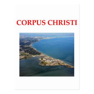 corpus christie postcard