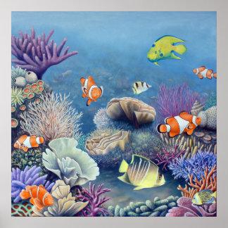Corral Reef print