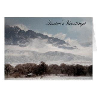 Corrales Snow Card