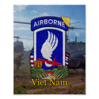 Correction de guerre de Vietnam de BDE d'ABN Poster