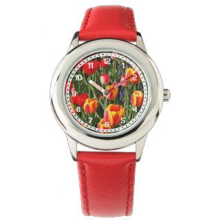 Correction de tulipe montres bracelet