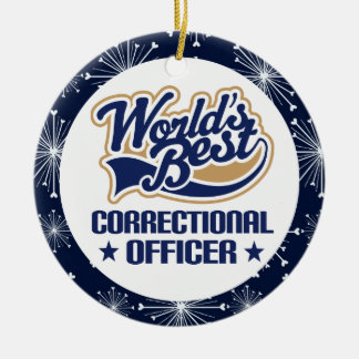 Correctional Officer Gift Ornament